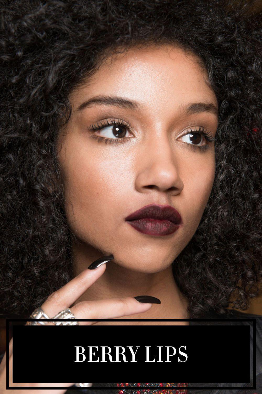 Fall 2017 Makeup Trends Runway Ideas Jill Beauty Lip Matte 13 Purplish Plum