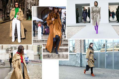 Clothing, Street fashion, Fashion, Fur, Fashion model, Coat, Trench coat, Outerwear, Fashion design, Textile,