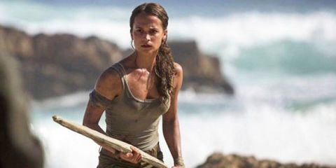 13c200c84 Your First Look at Alicia Vikander as Lara Croft - First Look ...