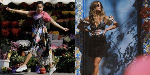Fashion, Street fashion, Performance, Dress, Fashion design, Footwear, Fashion model, Photography, Textile, Event,