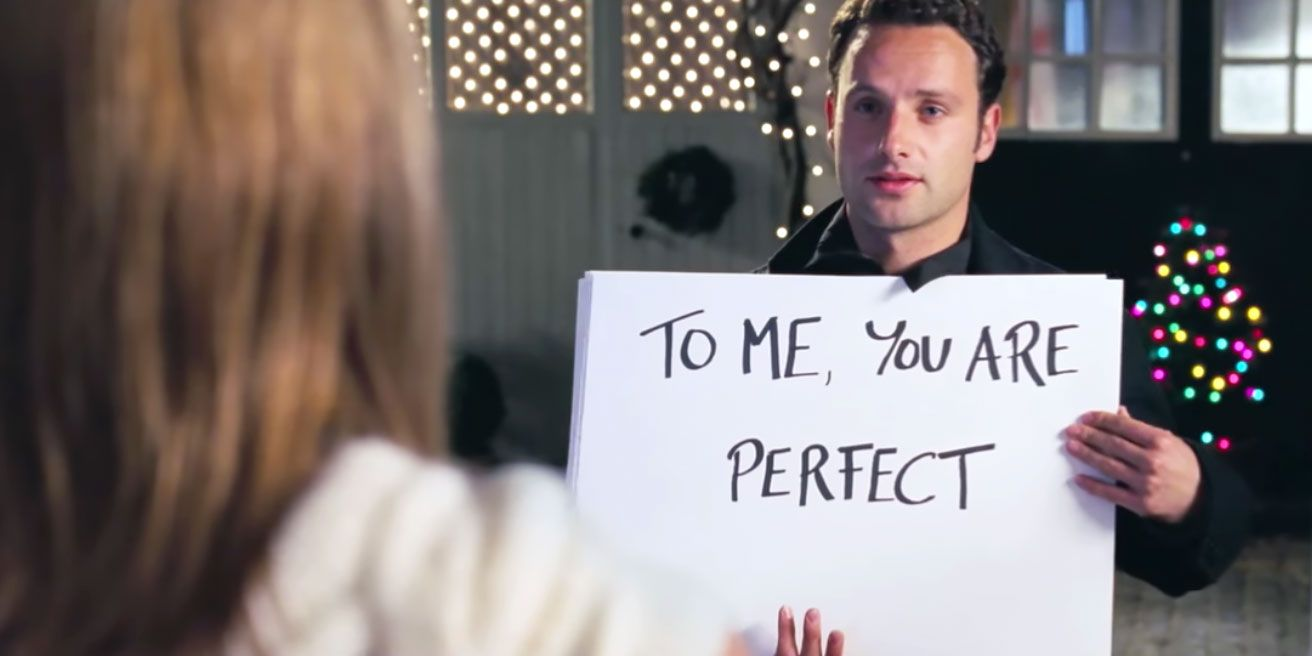 "Andrew Lincoln Admits His <i>Love Actually</i> Character Was Kind of a ""Weird Stalker Guy"""