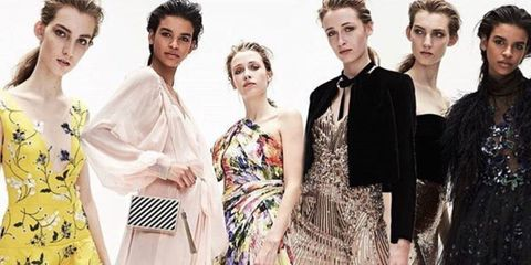 Fashion model, Fashion, Hairstyle, Fashion design, Retro style, Formal wear, Dress, Vintage clothing, Fashion designer, Classic,