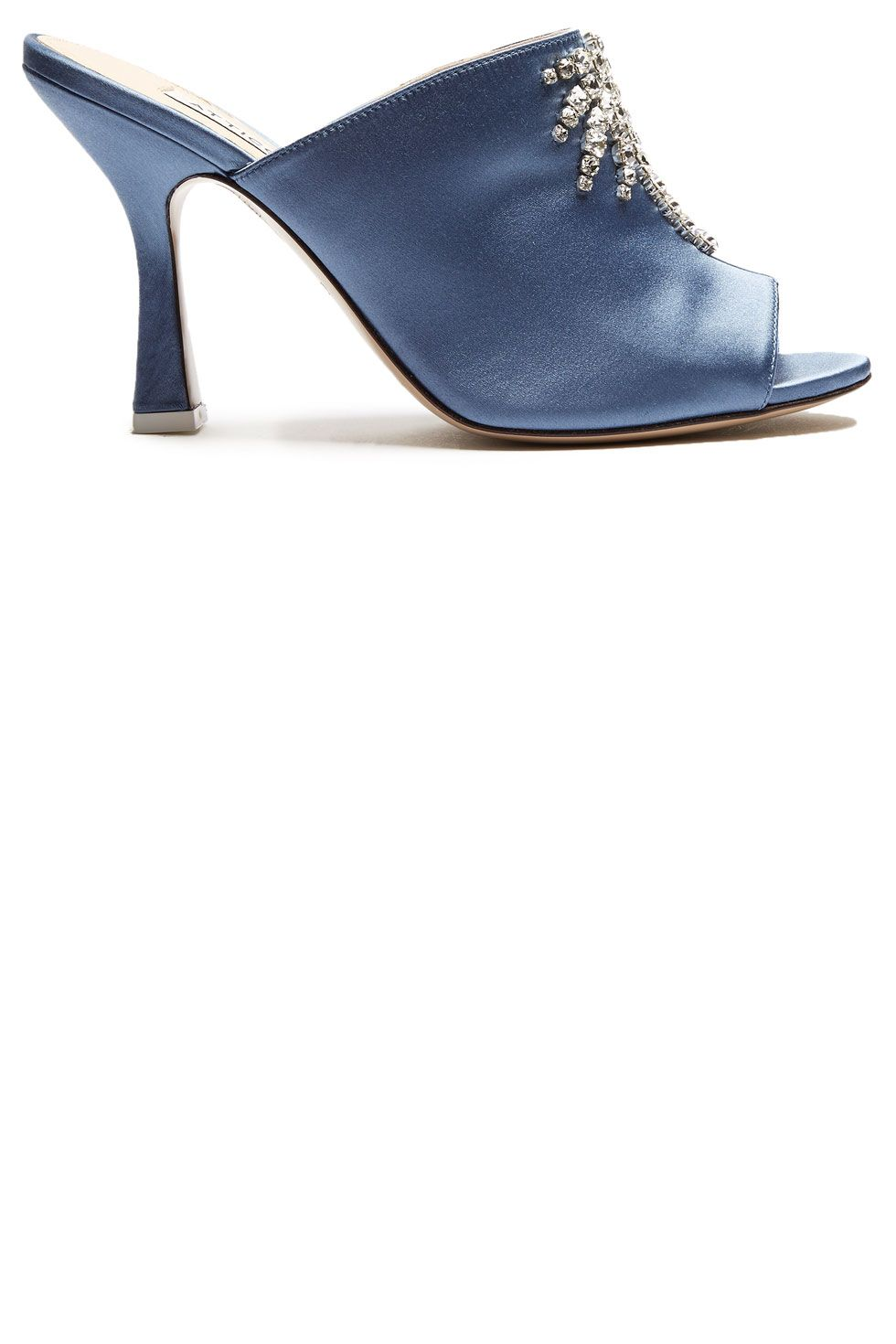 """<p>""""Pamela"""" crystal-embellised mules, $790, <a href=""""http://www.matchesfashion.com/products/Attico-Pamela-crystal-embellished-satin-mules-1098225"""" target=""""_blank"""" data-tracking-id=""""recirc-text-link"""">matchesfashion.com</a>.</p>"""