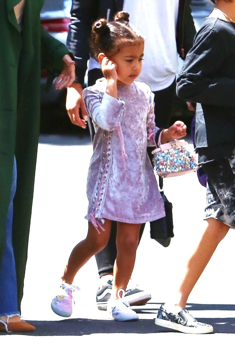 276cb52c2 North West Cutest Outfits - Pictures of North West s Best Fashion Looks