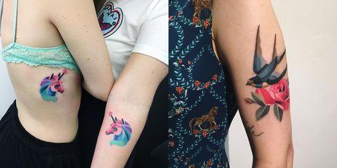 Tattoo, Temporary tattoo, Arm, Finger, Skin, Hand, Human leg, Leg, Nail, Thigh,
