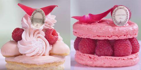 Sweetness, Food, Cuisine, Dessert, Ingredient, Pink, Baked goods, Finger food, Fruit, Recipe,