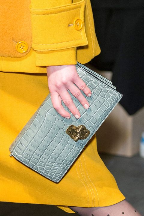 Yellow, Street fashion, Fashion, Wallet, Handbag, Bag, Electric blue, Coin purse, Leather, Joint,