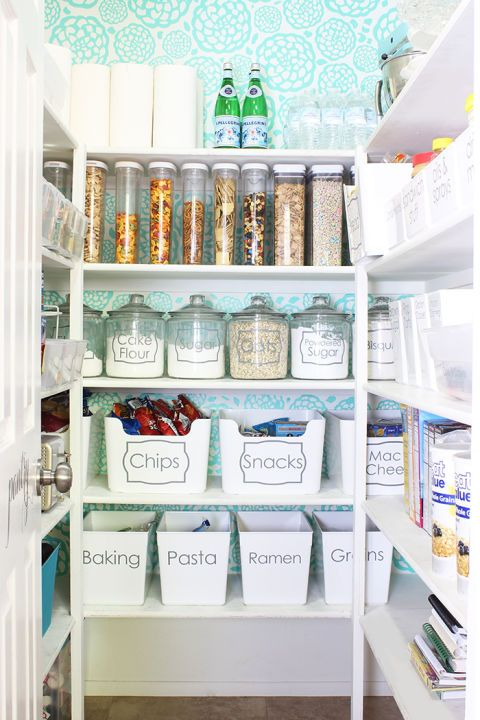 "<p>Think styling your pantry is silly? Think again. Swapping out the packaging your food comes in for reusable containers not only keeps them fresher, but also keeps your cupboard more organized.</p><p><a href=""http://www.elledecor.com/design-decorate/room-ideas/a7799/kitchen-pantry-organization-tips/"" target=""_blank"" data-tracking-id=""recirc-text-link""><em data-redactor-tag=""em"">See More Organizing Tricks</em></a></p>"