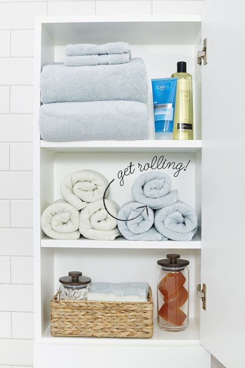 "<p>While scouring Pinterest for ideas for organizing their linen closets, pinners are also searching for ways to make them more convenient for guests to use.</p><p><em data-redactor-tag=""em""><a href=""http://www.housebeautiful.com/lifestyle/organizing-tips/g2824/linen-closet-organization-tricks/"" target=""_blank"">See More Linen Closet Organizing Tricks</a></em><em data-redactor-tag=""em""></em></p>"