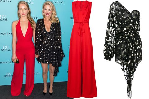 "<p>Christie Brinkley and her daughter, Sailor Brinkley-Cook, prove that age is just a number. </p><p><em data-verified=""redactor"" data-redactor-tag=""em"">Adam Lippes jumpsuit, $1,190, <a href=""https://shop.harpersbazaar.com/designers/adam-lippes/v-neck-wide-leg-jumpsuit-14072.html"" data-tracking-id=""recirc-text-link"">ShopBAZAAR.com</a>; </em><em data-verified=""redactor"" data-redactor-tag=""em"">Saint Laurent dress, $5,290, <a href=""https://shop.harpersbazaar.com/designers/saint-laurent/black-polka-dot-draped-one-shoulder-dress-13791.html"" data-tracking-id=""recirc-text-link"">ShopBAZAAR.com</a>. </em></p>"