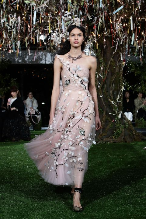 Dior Haute Couture Cherry Blossom Gowns in Tokyo, Japan - Dior ...