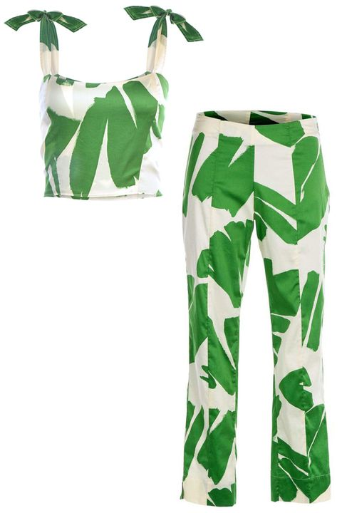 Green, Clothing, Leaf, Active pants, sweatpant, Trousers, Sportswear, Font, Design, Pattern,