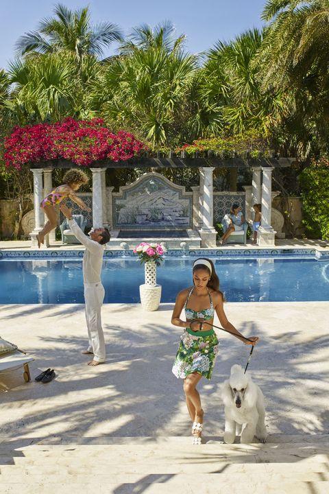 Vacation, Leisure, Swimming pool, Resort, Fun, Tourism, Tree, Summer, Palm tree, Travel,