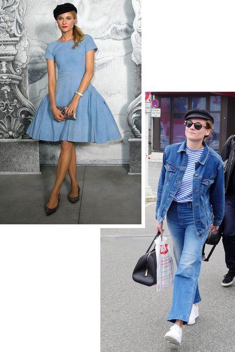 Clothing, Blue, Denim, Jeans, Fashion, Street fashion, Fashion model, Cobalt blue, Electric blue, Shoulder,