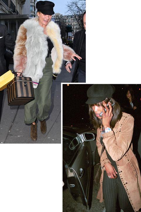 Fur, Fashion, Outerwear, Fur clothing, Jacket, Textile, Headgear, Coat, Street fashion, Jeans,