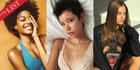 Hair, Lip, Hairstyle, Eye, Style, Eyelash, Beauty, Jewellery, Step cutting, Model,