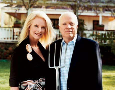 why did john mccain divorce his first wife