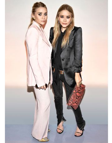 Mary Kate And Ashley Olsen At Cfda