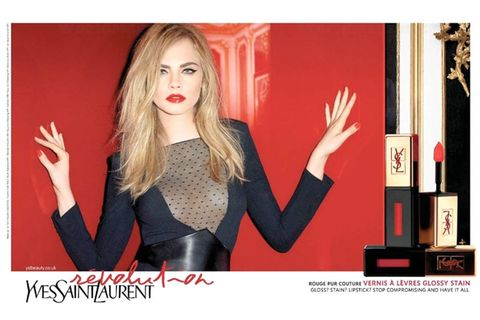 Lip, Finger, Hand, Red, Blond, Blazer, Gesture, Long hair, Thumb, Makeover,