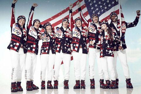 Sports uniform, Jersey, Sportswear, Uniform, Team, Flag, Flag of the united states, Baseball uniform, Sports jersey, Crew,