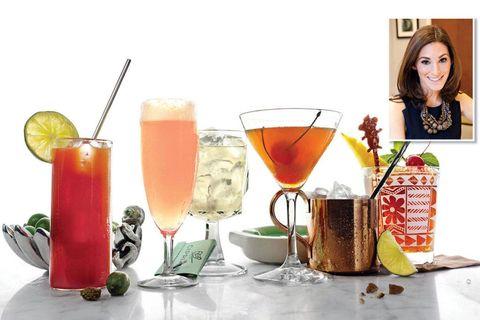 Drink, Alcoholic beverage, Tableware, Ingredient, Drinkware, Juice, Classic cocktail, Distilled beverage, Cocktail, Barware,