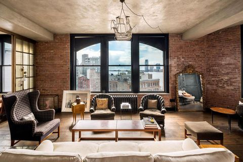 Kirsten Dunst's NYC Penthouse Hits The Market