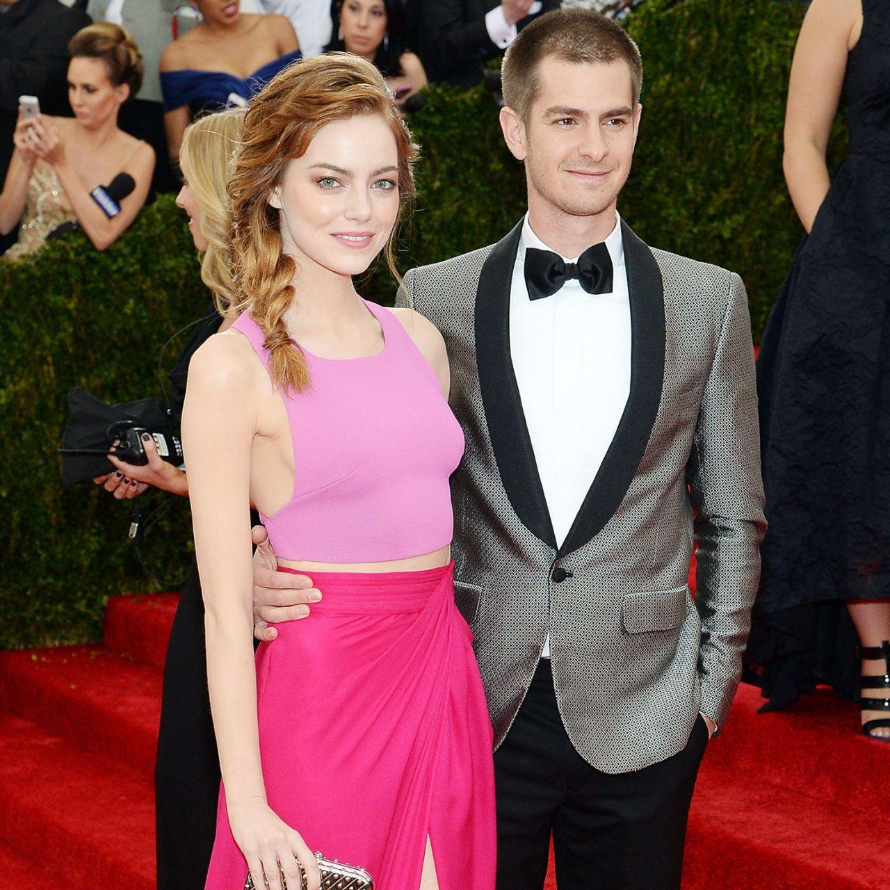 Emma sten och Andrew Garfield dating Ellen