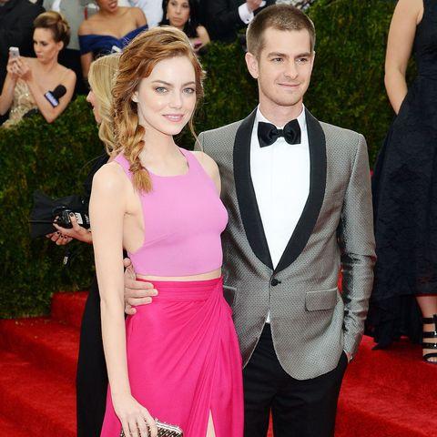 Emma Stone et Andrew Garfield datant Ellen