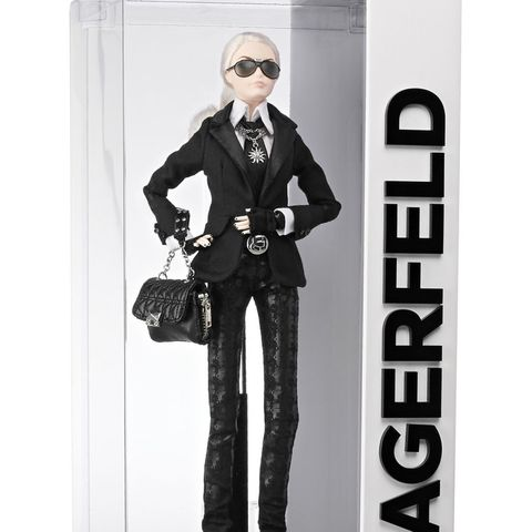 karl lagerfeld barbie ebay