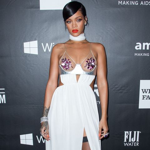 Rihanna Rocks Sultry Tom Ford at the amfAR Gala