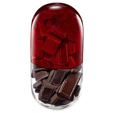 Benefits Of Chocolate In Pill Form150 Eating Dark