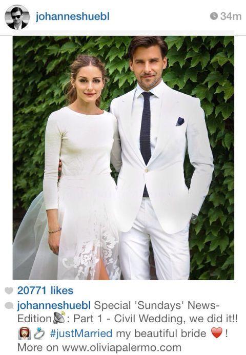 Olivia Palermo Wedding.Olivia Palermo Wedding Dress Olivia Palermo And Johannes Huebl
