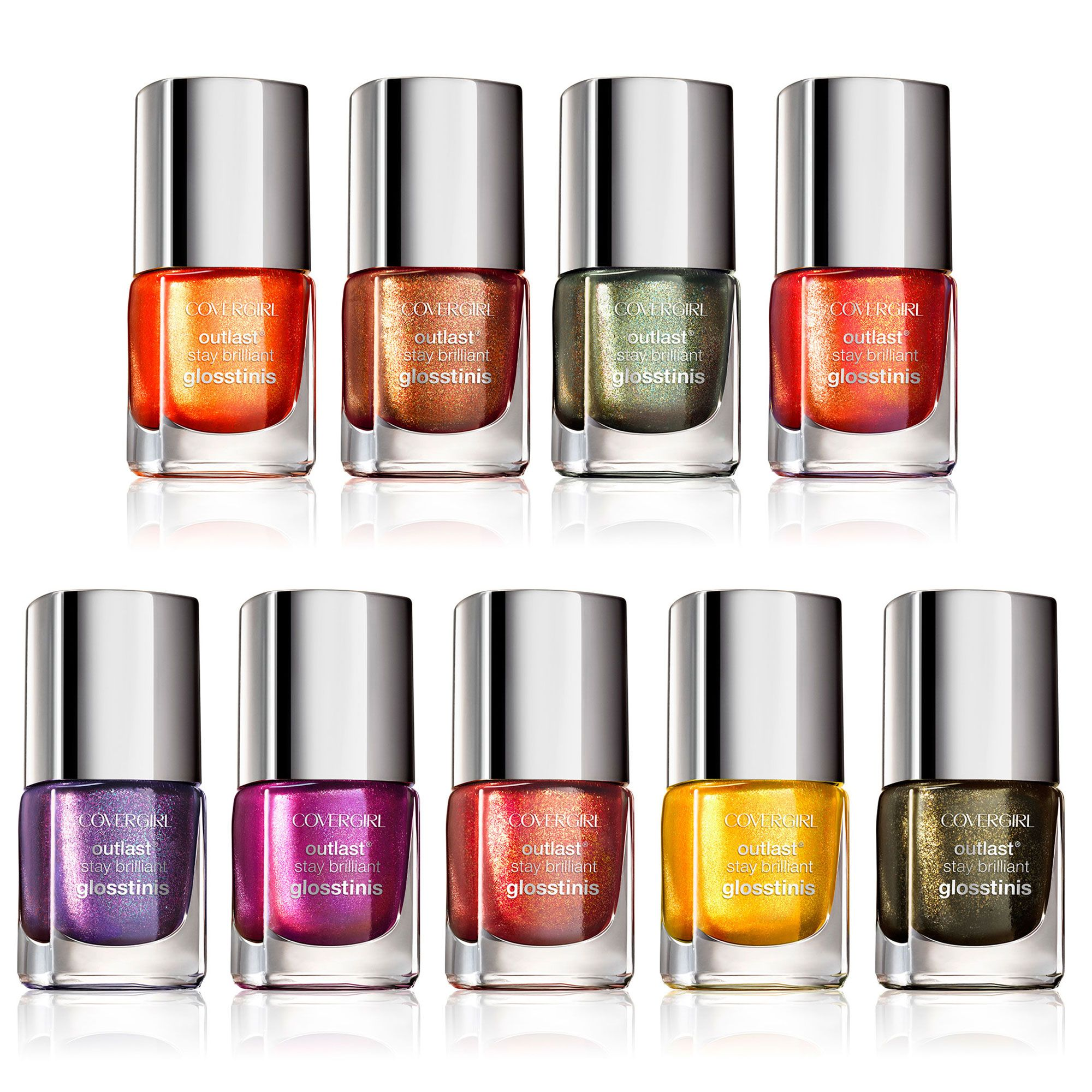 Hunger Games Nail Polish Colors from CoverGirl - Catching Fire Nail ...