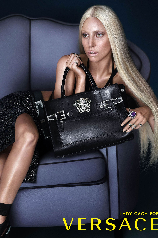 Lady Gaga's Major Versace Ads, Plus More!
