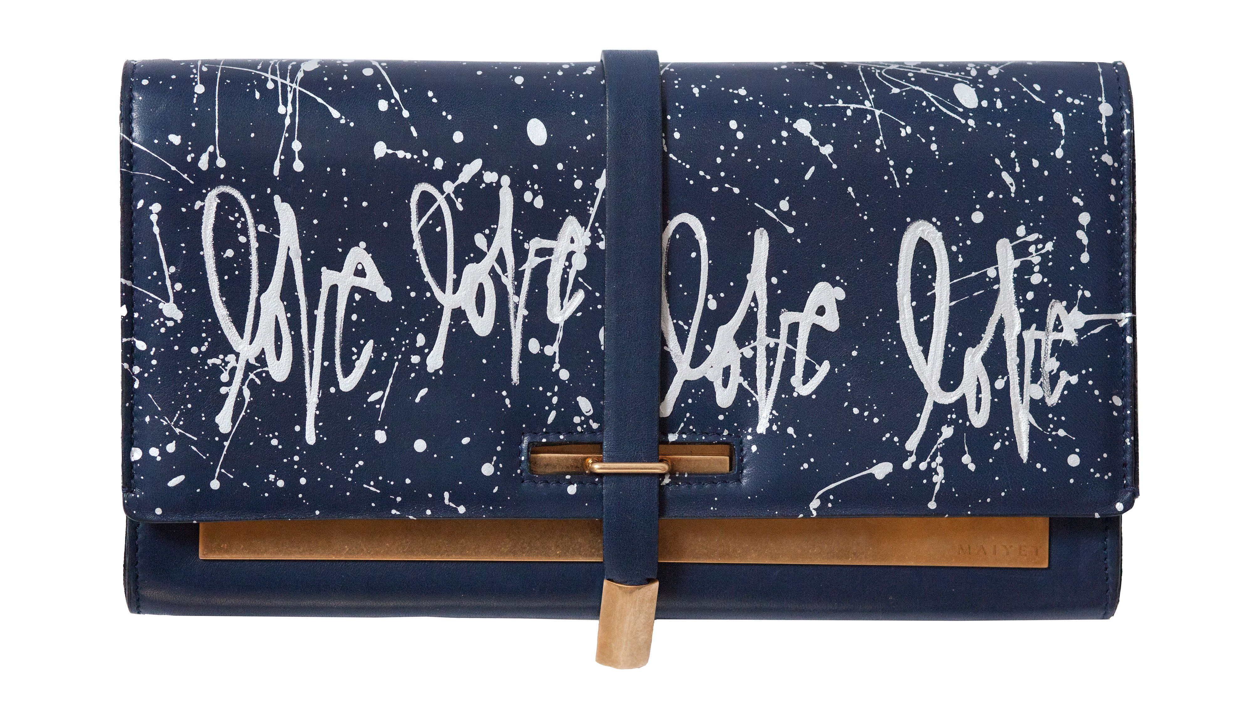 A Clutch That's All About Love