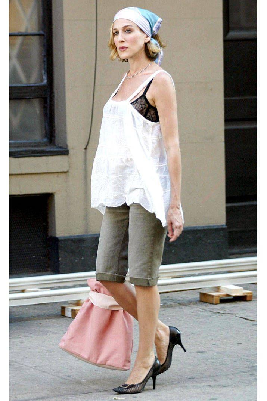The Carrie Bradshaw Bra Effect