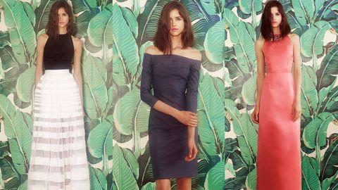 Green, Dress, Textile, Formal wear, Style, One-piece garment, Pattern, Day dress, Waist, Fashion,