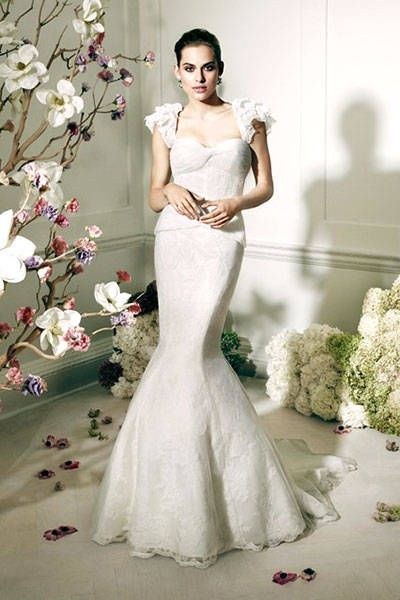 e623954f14e Zac Posen Unveils Debut Collection for David s Bridal - Fashion News
