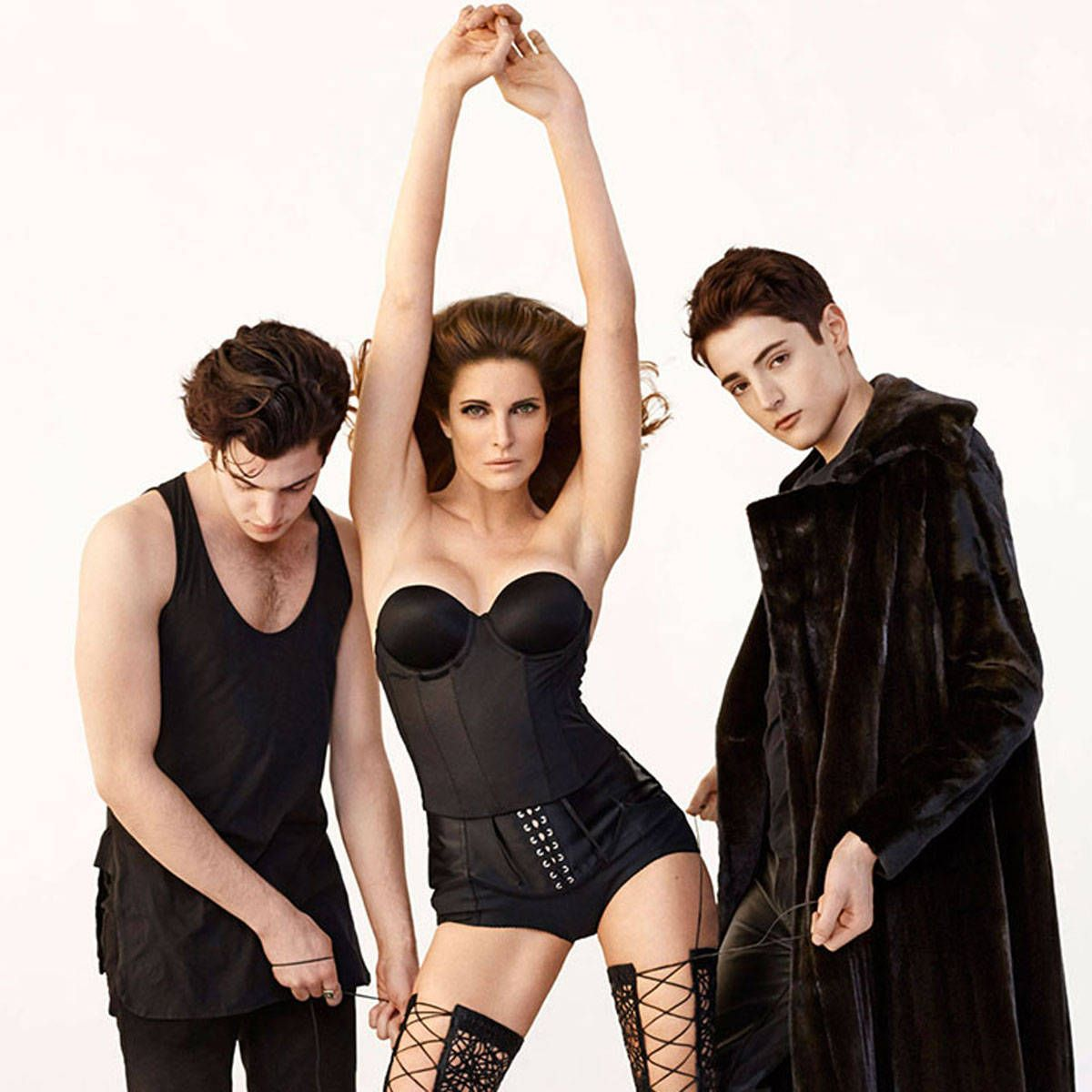 Stephanie Seymour 2014 Interview Stephanie Seymour Quotes About Her Sons And Axel Rose