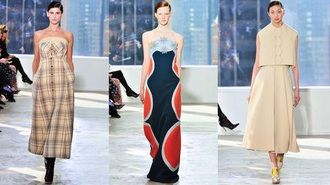 Sleeve, Dress, Pattern, Formal wear, Style, One-piece garment, Waist, Fashion model, Fashion, Neck,
