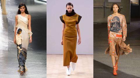 Sleeve, Shoulder, Joint, Waist, Style, Fashion model, Orange, Fashion, Neck, Beauty,