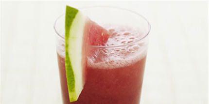 Homemade Watermelon Slushie