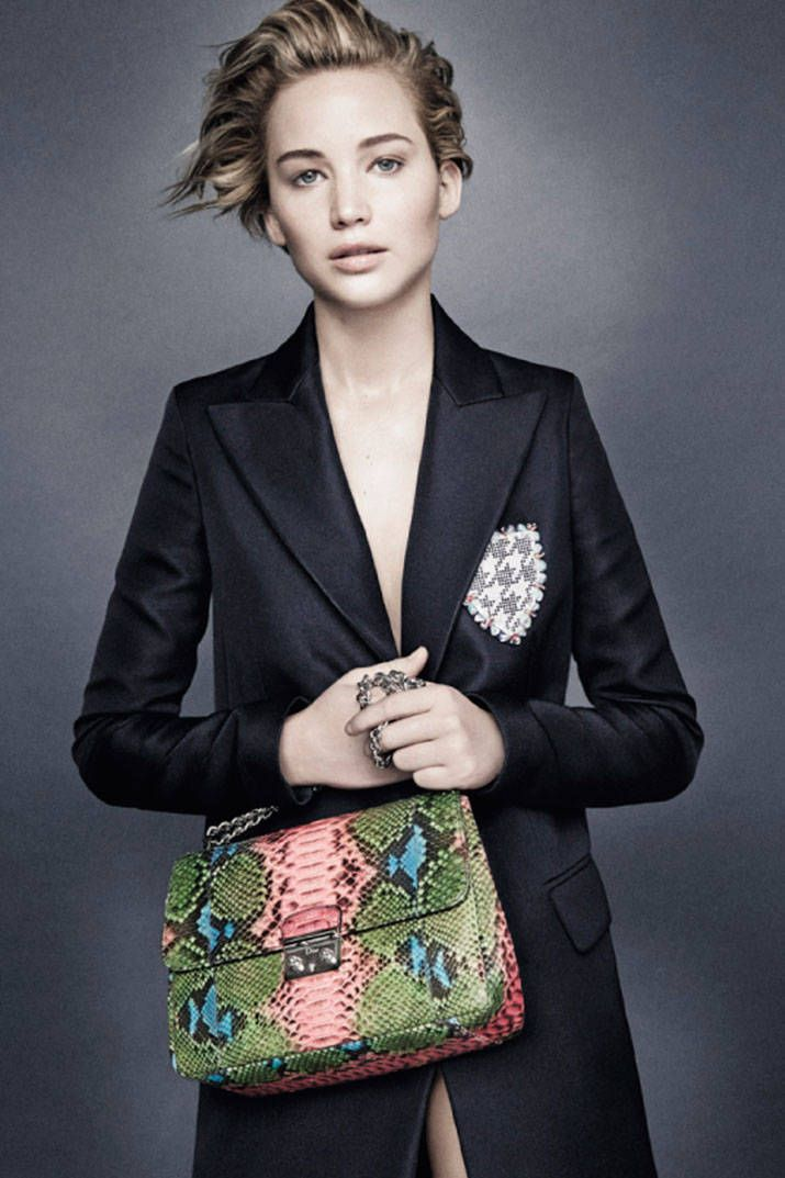 Jennifer Lawrence is the Face of Dior for the Third Time