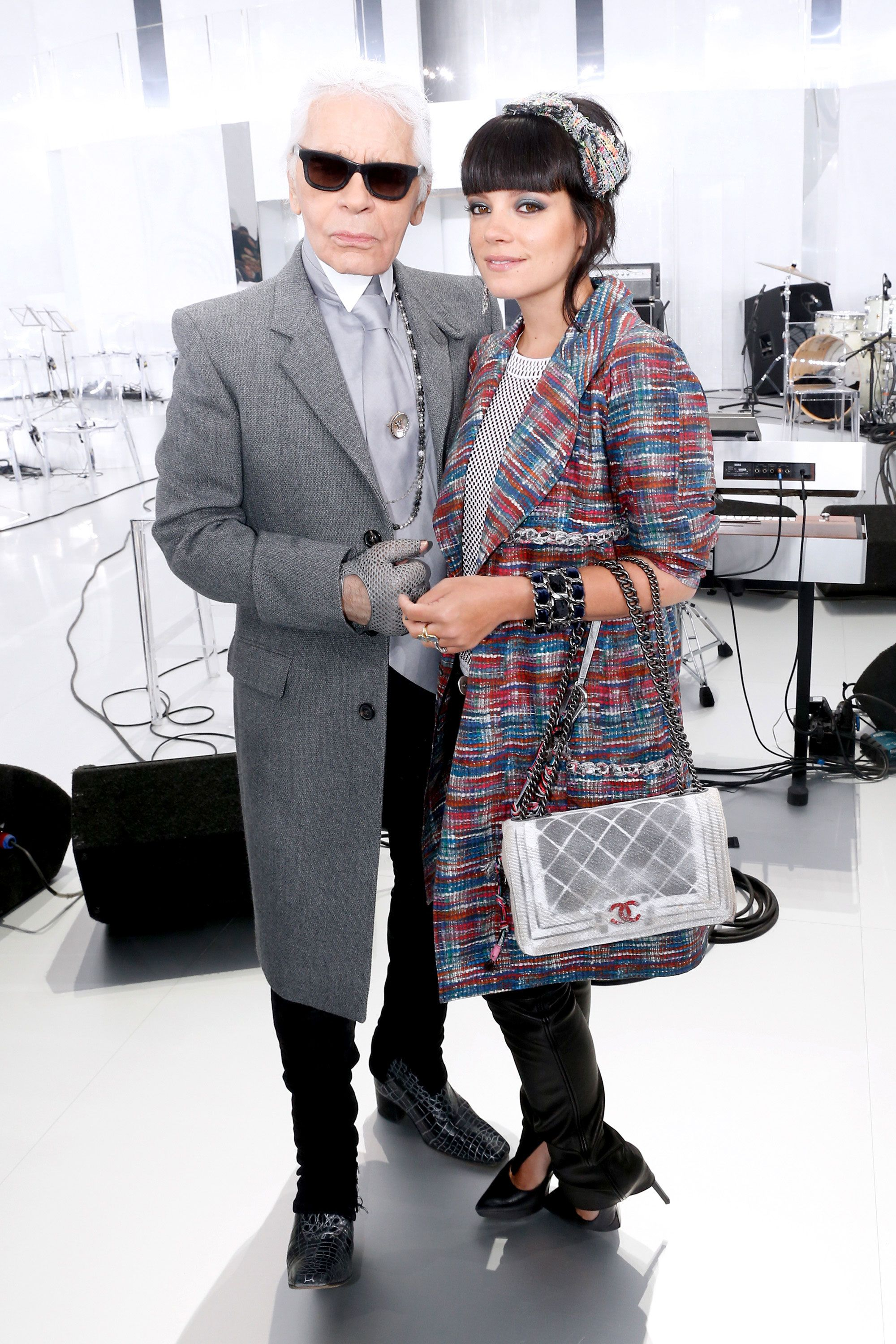 91c9f5f0a545 Lily Allen's Lost Chanel Couture Wedding Gown - Fashion News