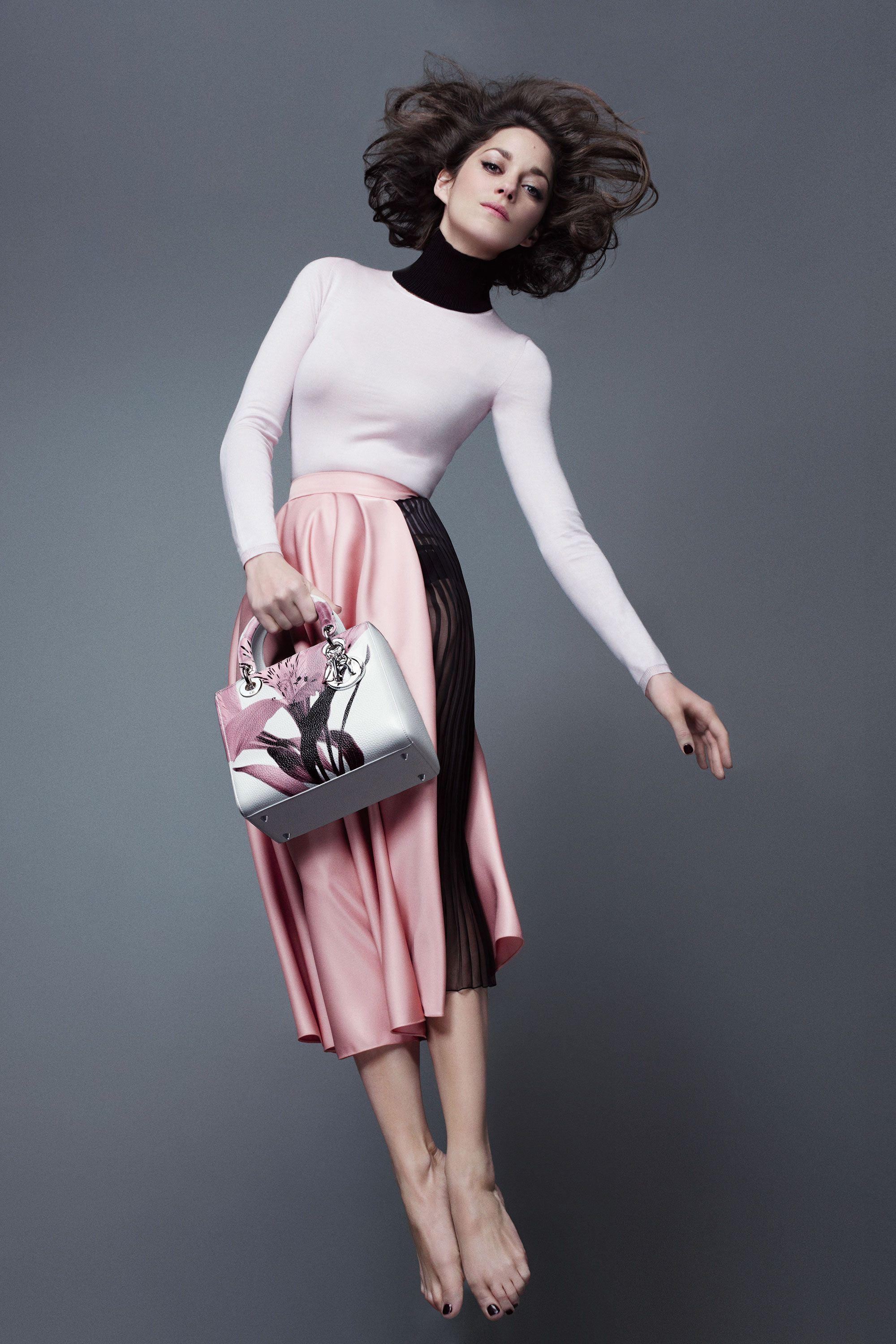 Fashion style Cotillard marion lady dior campaign spring for lady