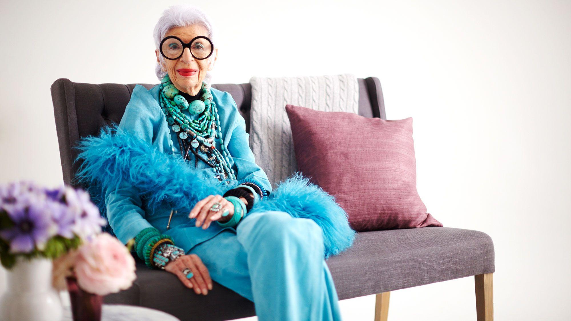 Iris Apfel on Being a Geriatric Starlet and Selling Her Vintage Treasures