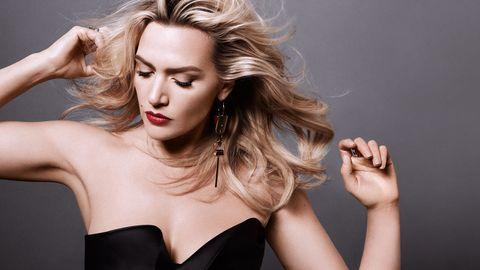 Lip, Hairstyle, Shoulder, Eyebrow, Strapless dress, Eyelash, Beauty, Fashion model, Wrist, Fashion,