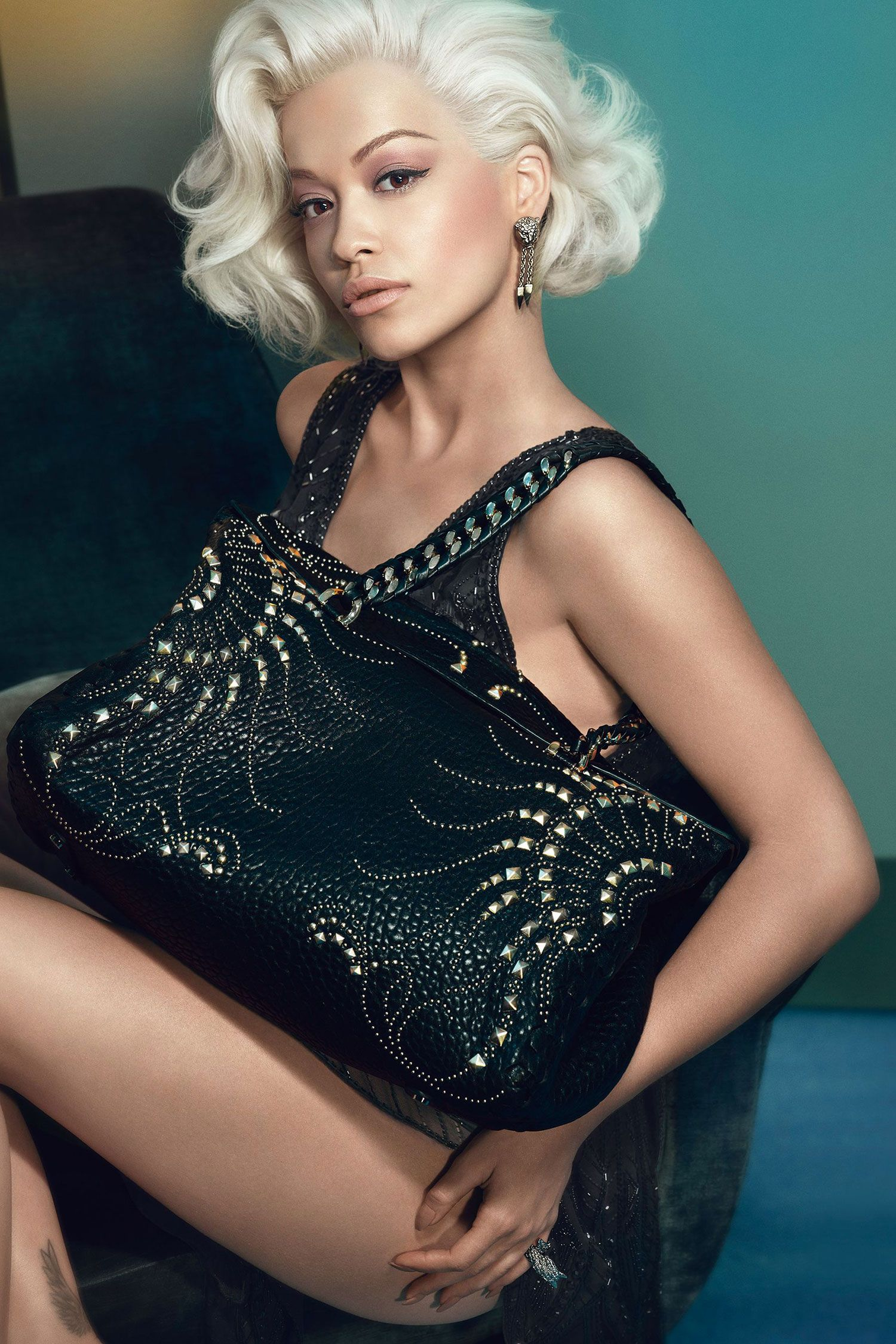Rita Ora Is The New Face of Roberto Cavalli