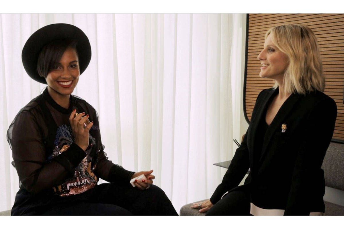 Laura Brown Interviews Alicia Keys - Alicia Keys
