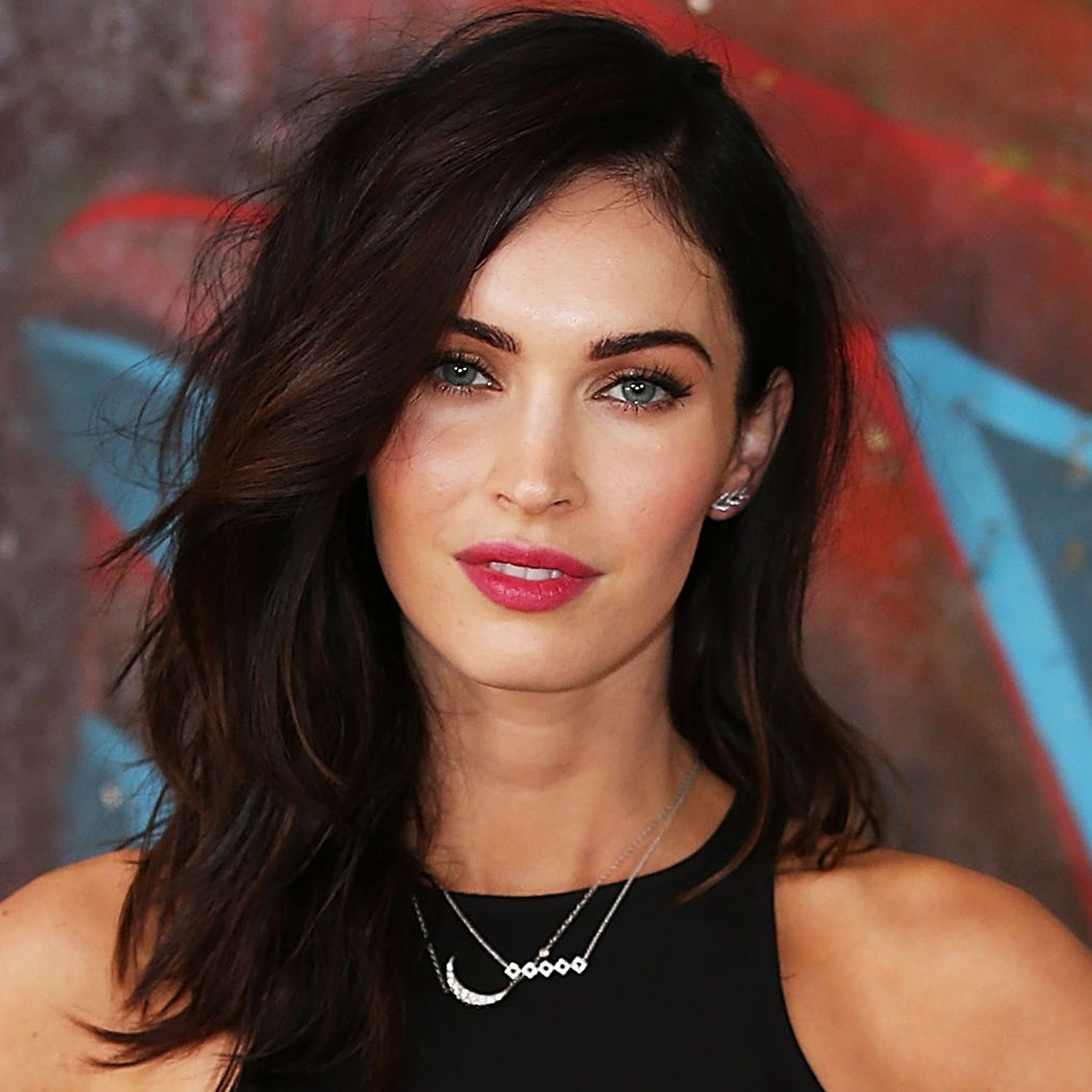 megan fox haircut - lob hairstyle